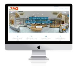pixfor360.com sur iMac
